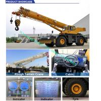 Buy cheap All Wheel Drive 4x4 XCMG Sany 10 Ton RT10 Mobile rough terrain crane telescopic Boom High Cost Effective from wholesalers
