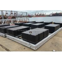 Buy cheap Marina dock floats floating pontoons with different colors and all accessories from wholesalers