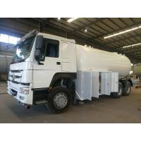 Buy cheap Durable Sinotruk Howo LPG Tanker Truck 10MT Bobtail With Dispenser High Capacity from wholesalers