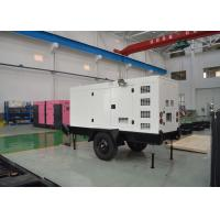 Buy cheap Trailer Type Silent Generators 64kw 80kva Cummins Diesel  Movable With Wheels from wholesalers