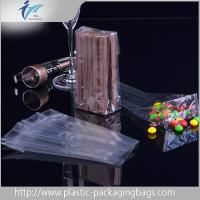 Buy cheap Transparent  Block Bottom Standing up Plastic Packaging Bags with Roto Gravure Printing For 150g Cookies Food from wholesalers