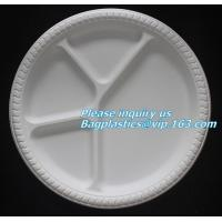 Buy cheap Disposable Plastic Takeaway Meal Tray, Corn starch blister packaging tray, blister packaging from wholesalers