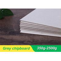 Buy cheap 1mm 1.5mm mixed pulp laminated grey board/grey cardboard/grey chip board manufacturer from wholesalers