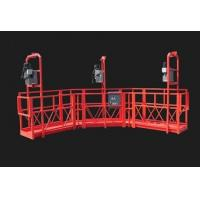 Buy cheap Red Arc Adjustable High Working Steel Rope Suspended Platform Cardle for Construction from wholesalers