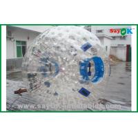 Buy cheap Gaint Plastic Human Hamster Ball Inflatable Sports Games For Bubble Soccer from wholesalers