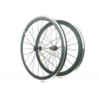 Buy cheap 271 372 Hub Carbon Alloy Wheels Clincher Matte / Glossy Finishing With Alloy Brake from wholesalers