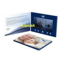 Buy cheap Bespoke Personalized  Invitation Video Card Business Video Greeting Card from wholesalers