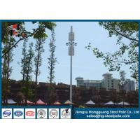 Buy cheap Polygonal Telecommunication Towers With Hot Dip Galvanized Antenna Mast from wholesalers