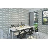Buy cheap Eco Friendly Carved Living Room Modern 3D Wallpaper , 3D Wall Background for TV or Sofa from wholesalers