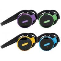 Buy cheap Noise Cancelling Wireless Stereo Bluetooth Sport Headphone With Recording FM Radio from wholesalers