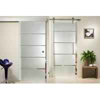 Buy cheap Clear Float Durable Tempered Glass , Silkscreen Frosted Tempered Shower Glass Doors from wholesalers