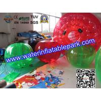 Buy cheap Amusement Park Inflatable Body Bumper Ball Human Sized For Soccer Play from wholesalers