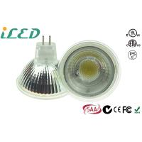 Buy cheap COB Glass Spotlight GU5.3 Led Light Bulbs Mr16 Dimmable 5W 12Volt from wholesalers