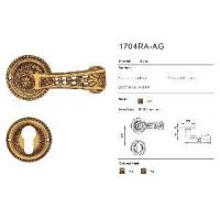 Buy cheap Door Handles and Locks (1704RA-AG) from wholesalers