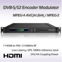 Buy cheap HD-SDI TO DVB-S/S2 Encoding Modulator RF(950~2150MHz) or IF(50~200MHz) Output REM7001 from wholesalers