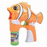 Buy cheap Hot-selling Clown Fish Flash Toy Bubble Gun with 2 Bottles and Music EN71 GW355267 from wholesalers