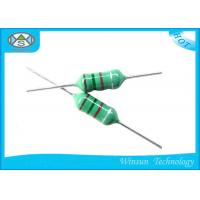 Buy cheap Green LGA Color Code Fixed Inductor Small Size 0204 - 0510 With Epoxy Resin Coating from wholesalers