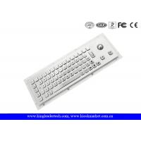 Buy cheap Rugged Waterproof Industrial Computer Keyboard In Metal With Integrated Trackball from wholesalers
