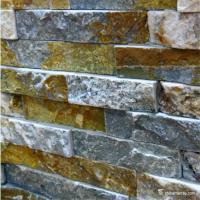 Buy cheap Slate Culture Stone Natural stone Limestone Stone Wall Rockface Cladding CS-119 from wholesalers