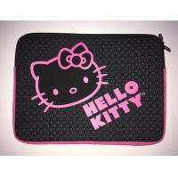 """Buy cheap Black HELLO KITTY Laptop Sleeve Notebook Computer Tablet Case Protector Padded Carrier,water resistant,slim 7""""inch product"""