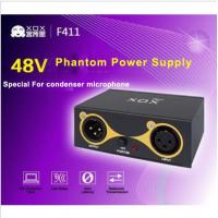 Buy cheap XOX 48V Phantom Power Supply with USB cable for Any Condenser Microphone Music Recording Equipment from wholesalers