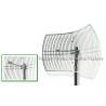 Buy cheap 5725 - 5850MHz Parabolic Uhf Antenna , WLAN / LAN 30 Dbi Wifi Antenna Outdoor from wholesalers