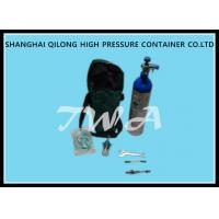 Buy cheap TWA  High Pressure Aluminum DOT 0.38L Aluminum Cylinder  Safety Gas Cylinder For  Use CO2 Beverage from wholesalers