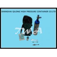 Customized 1L Medical Gas Cylinder 75mm Outside Diameter Hospital Oxygen Tank