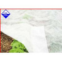Buy cheap Breathable Non Woven Ground Cloth For Weed Control , Plant Cover Fabric 15gsm - 40gsm from wholesalers