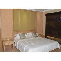 Buy cheap Japanese Style Modern Hotel Bedroom Furniture Ash Wood Guest Room Furniture Set from wholesalers