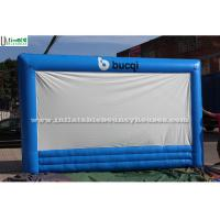 Buy cheap Blue Advertising Inflatables Movie Screen Inflatable Projection Screen from wholesalers