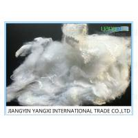Buy cheap Virgin Spinning Poly Staple Fibre 2.8 Denier Mid Tenacity Easy To Process from wholesalers