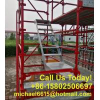 Buy cheap Steel Scaffolding Material Q235 Scaffold Painted Ledger Kwikstage Scaffolding for Sale from wholesalers