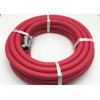 Buy cheap Red 3/4 Inch Jackhammer Rubber Air Hose / Flexible Air Hose 50ft Length from wholesalers