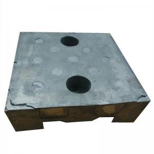 Buy cheap Wear Resistance 62HRC 65HRC Bi Metal Box Casting For Mining product