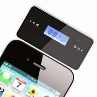 Buy cheap Orignal New Design 3.5mm Jack FM Transmitter for iPhone from wholesalers