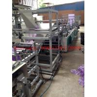 Buy cheap Poly Draw Handle Garbage Plastic Bag Making Machine 0.01-0.05mm Thickness from wholesalers