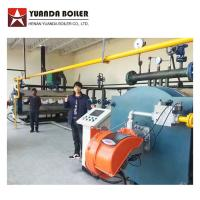 Buy cheap China Price Gas Oil Fired Industrial Thermal Oil Heater Boiler For Plastic Factory from wholesalers
