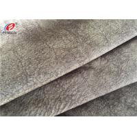 Buy cheap Warp Knitting Polyester Sofa Cover Fabric , Soft Velvet Upholstery Fabric from wholesalers