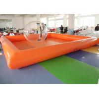 Buy cheap ODM Human Size Hamster Ball Large Blow Up Swimming Pools For Family from wholesalers
