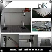 Buy cheap Telescopic pipe and drape system, three piece pipe poles upright from wholesalers