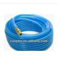 Buy cheap High quality Recoiled Blue PA Air Hose with quick coupler from wholesalers