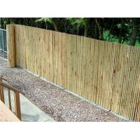 Buy cheap Bamboo matting Natural color Bamboo Fence Roll 4'*8' from wholesalers