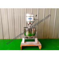 Buy cheap 80L Electric Commercial Planetary Mixer 3 Speed Motor Size 750x900x1410mm from wholesalers
