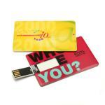 Buy cheap Slim Pen Drive Card USB Flash Memory 1GB 2GB 4GB 8GB Promotional from Wholesalers