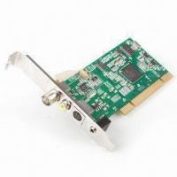 Buy cheap TV Tuner Card, PCI Silicon, with Customizable Channel Lists and Still-image Snapshots product