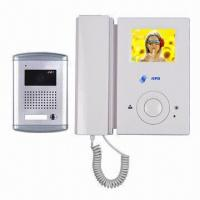 Buy cheap Video Door Phone with Image Memory and Four Wires Intercom System, Supports Two Extra Cameras from wholesalers