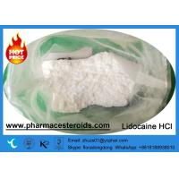 Buy cheap Local Anesthetic Pain Killer Drugs Lidocaine HCl with Large Amount CAS 6108-05-0 from wholesalers