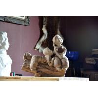 Buy cheap Clay Figurine;Chinese Traditional Clay Sculpture for Decoration and Gifts;Arts Decoration from wholesalers