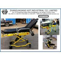 Buy cheap Hospital Steel Ambulance Stretcher Light weight with button Control from wholesalers